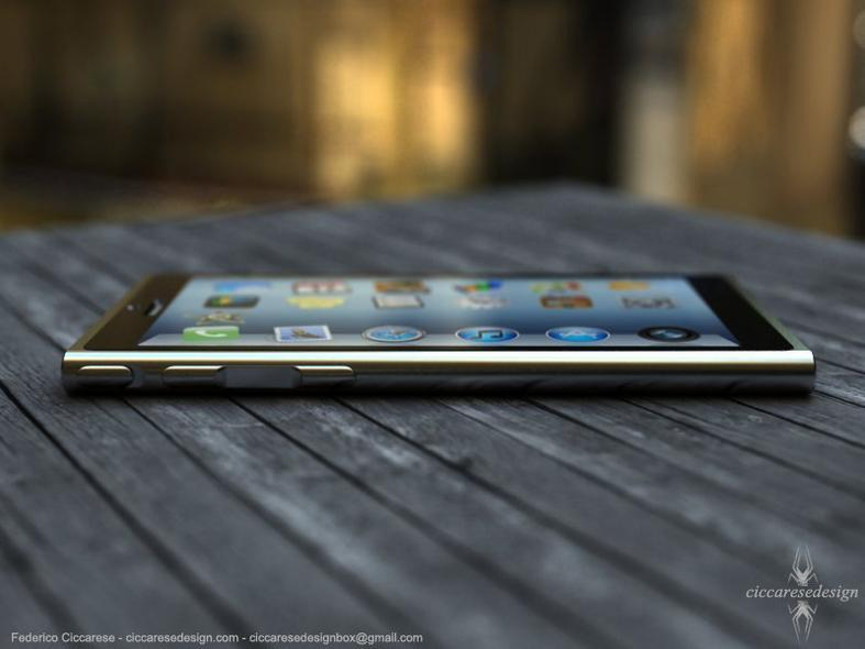 iPhone6 Concept Side