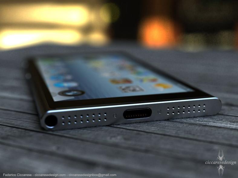 iPhone6 Concept Bottom