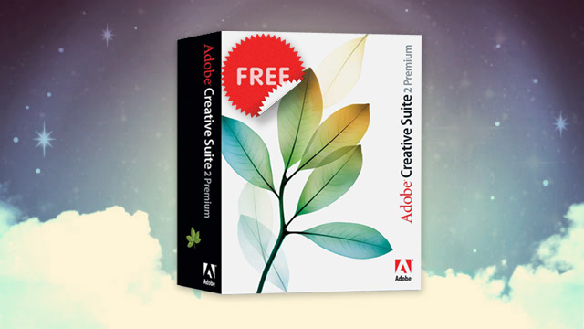 Free Adobe Creative Suite CS2