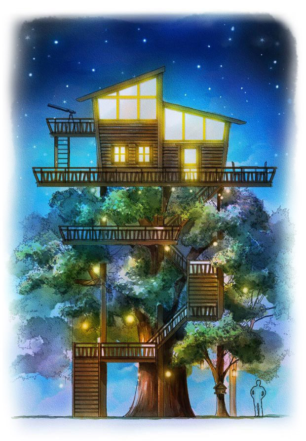 Penang Escape Theme Park Tree House Concept