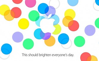 Apple Event 10 Sept 2013