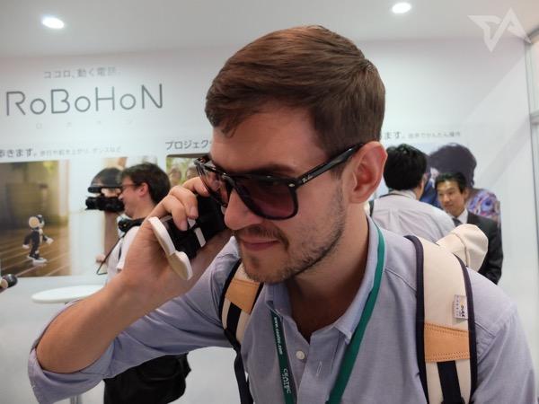 Robohon call